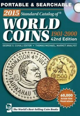 2015 Standard Catalog of World Coins 1901-2000 by George S. Cuhaj.