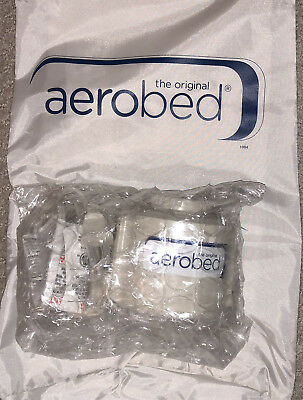 New, never used The Original Aerobed Air Pump White Model #103H w. mattress