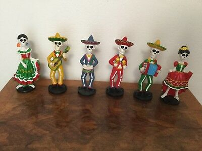 Day of the Dead figurines Mariachi Band