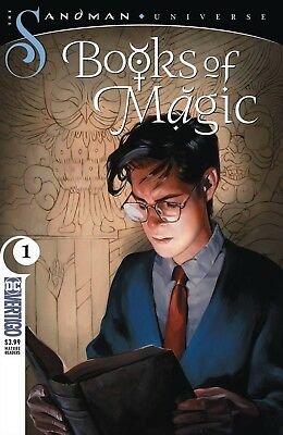 BOOKS OF MAGIC 1 1st PRINT NM DC SANDMAN UNIVERSE PRE-SALE 10/24