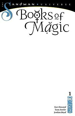 Books Of Magic 1 Blank For Sketch Variant Nm Dc Sandman Universe Pre-Sale 10/24