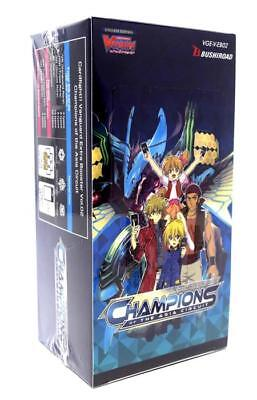 Cardfight!! Vanguard Champions of the Asia Circuit Sealed Booster Box VGE-V-BT02