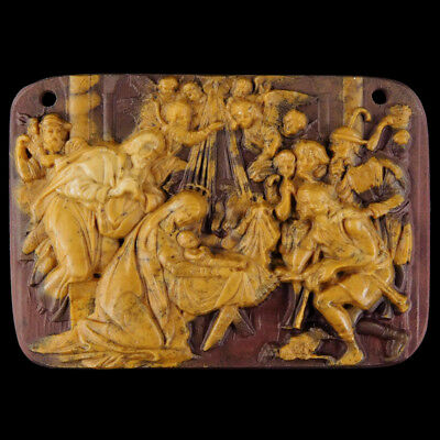Carved The Birth Of The Christ Bead C EF514178