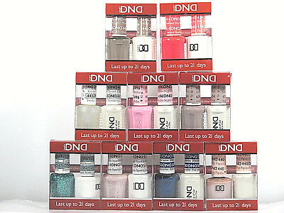 DND Nail Soak Off Gel & Polish Combo Duo Assorted Colors 585-710 You Pick