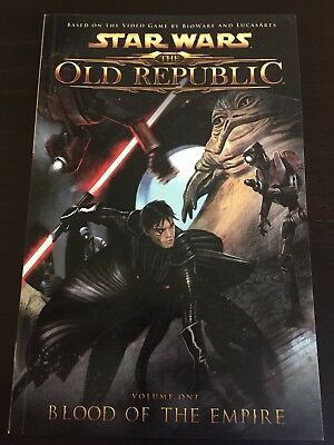 Star Wars The Old Republic TPB (Dark Horse) Vol 1 And 2!  FIRST EDITION