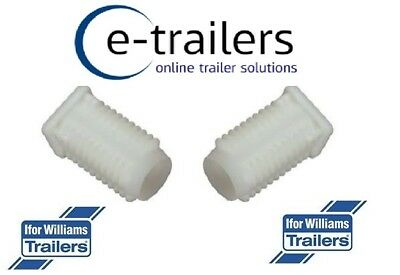 2 x Replacement Ramp Hinge White Bush for Ifor Williams Trailers P1246 (AS0558)