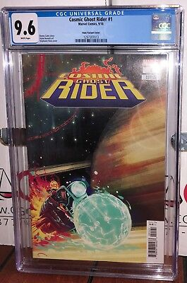 Cgc 9.6 Cosmic Ghost Rider  # 1 Stephanie Hans Variant Cover