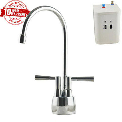 Instant Hot / Boiling Water Kitchen Tap 2 in 1 Cold / Hot Water & Heating Unit