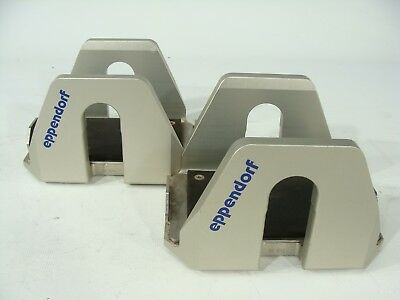 Eppendorf 5810/R Lot of 2 Centrifuge Microplate Swing Buckets For A-4-62 Rotor