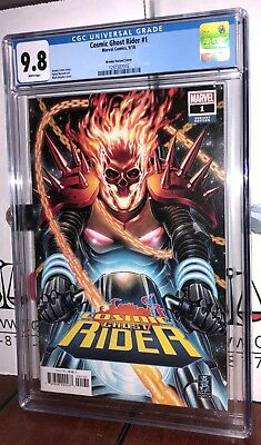 Cgc 9.8 Cosmic Ghost Rider # 1 Mark Brooks Variant Cover