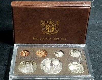 1981 New Zealand Proof Silver Coin Set