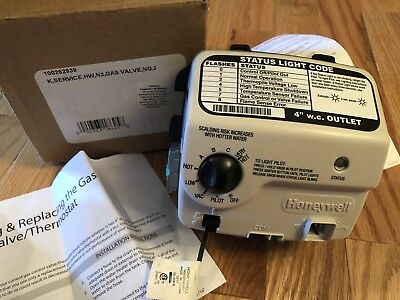 AO Smith Honeywell Gas Water Heater Control Valve WV8840B1158 100262939