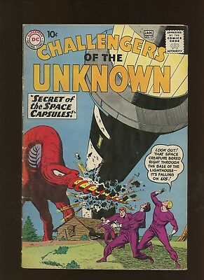 Challengers of the Unknown 17 VG/FN 5.0 * 1 Book Lot * Bob Brown Art!