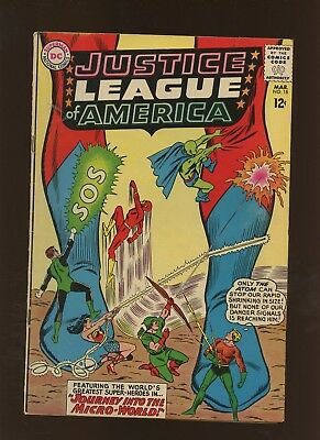 Justice League of America 18 FN 5.5 * 1 Book Lot * Journey into the Micro-World!