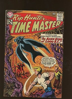 Rip Hunter Time Master 9 FN+ 6.5 * 1 Book Lot * Alien King From 1,000 BC!