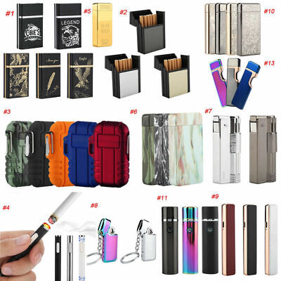 Cigarette USB Charging Electric LIGHTER Double ARC PULSE Flameles Plasma Torch