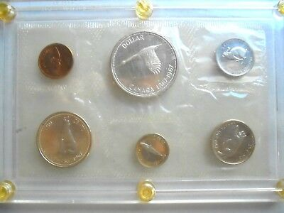 1867-1967 Centennial Silver Canada 6 Coin Proof-Sealed Set