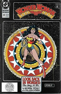 Copper age, Wonder Woman Vol. 2 #49 (Dec. 90 DC) George Perez cover & story