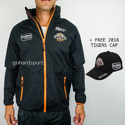 Wests Tigers 2018 NRL Wet Weather Jacket (Mens + Kids Sizes) *BNWT* ON SALE NOW