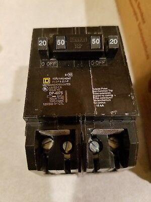 Square D by Schneider Electric HOMT2020250CP Homeline 2-20-Amp Single-Pole 1-...
