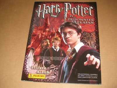 Harry Potter Prisoner of Azkaban Panini Stickers Album