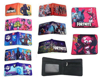 Fortnite Game Wallet Men's Short Bifold Purse Coin Bag Handbag Unisex Gift New