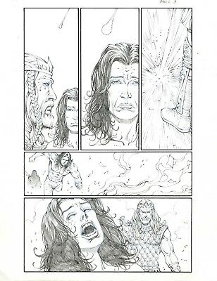 Godstorm (Age of Darkness) pages 3 and 6 by Noah Salonga