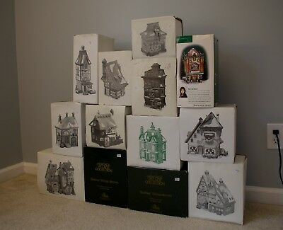 Dept 56 Lot Charles Dickens