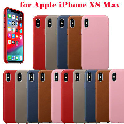 Original Leather Genuine Fit Case Luxury Cover For Apple IPhone XS Max/XS/XR