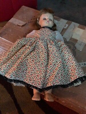 """Mme Alexander Doll 1959 Vintage Doll With Dress 18"""""""