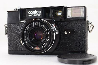"""""""""""Appearance N MINT(Exc+3)""""""""  Konica C35 AF2 HEXANON 38mm F2.8  From JAPAN  #897"""