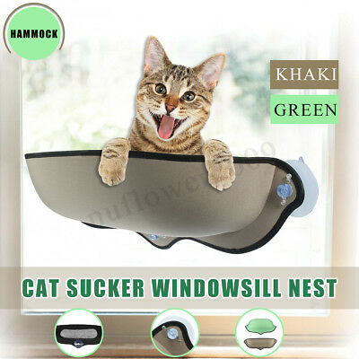 Cat Padded Window Perch Seat Bed Hammock Car Suction Cup Resting Pet Supplies