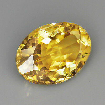 VVS 10.75Ct 13x18mm 100% Natural Brillant Lemon Citrine Precious Faceting UQLC35