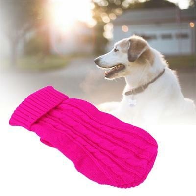 Pet Cat Dog Knitted Jumper Winter Sweater Warm Coat Jacket Puppy Clothes Soft