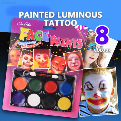 0DBB Face Painting Pigment Random Color Drawing Cosmetics Body Painting Pigment