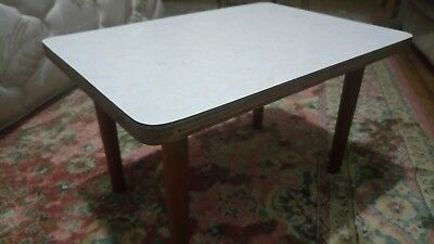 Cute Vintage 1960's & 1970's  Timber & Laminate Coffee Table Danish Style