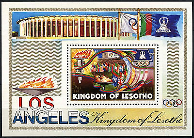 Lesotho 1984 SG#MS595 Olympic Games MNH M/S #D40126
