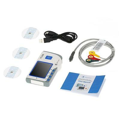 Small Size Heal Force PC-80B Professional Easy ECG Monitor Portable S9I2