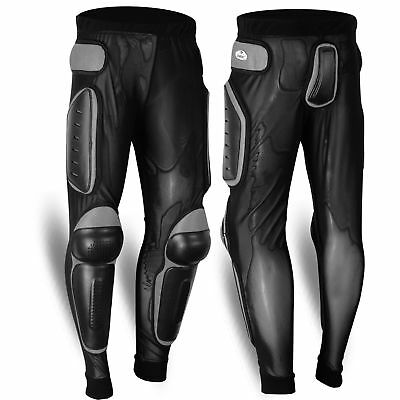 US Seller Protection Pants Body Armour Motorcycle Snowboard MX Pads Legs Trouser
