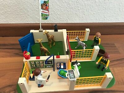 Playmobil Super Set Zoo Pflegestation 4009-A - Tiere Tierpflegestation