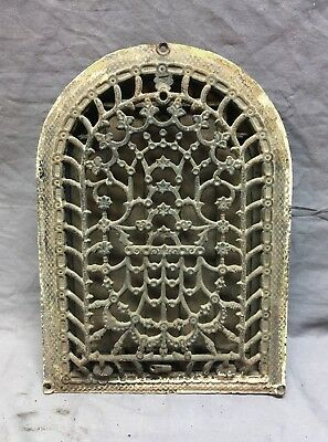 Antique Cast Iron Arch Dome Top Floor Register Heat Grate 8x12 Old Vtg 70-18C
