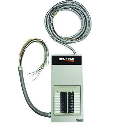 Generac Automatic Transfer Switch ATS, 100A, Gray - RTG16EZA1 Pre-Wired 30' Whip