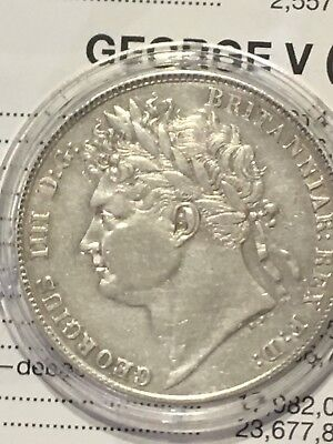 1820 George IV Silver Halfcrown, Nice Condition