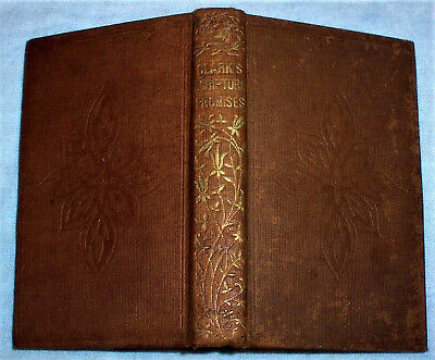 ca. 1850 Scripture Promises ; Bible Passages on God's Promises , Antique Book