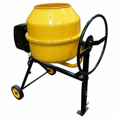 Electric Cement Concrete Mixer RocwooD 180 Litre 800W Drum Mortar Plaster