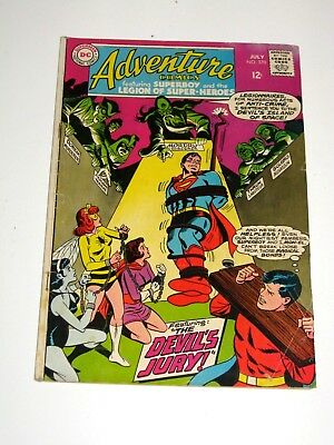 Adventure Comics #370 - DC Comics - VG- Condition