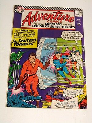 Adventure Comics #347 - DC Comics - FN- Condition
