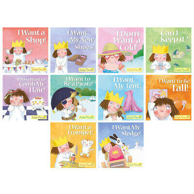 Little Princess 10 Book Set Collection Inc I Want My Sledge, I Want My Tent,