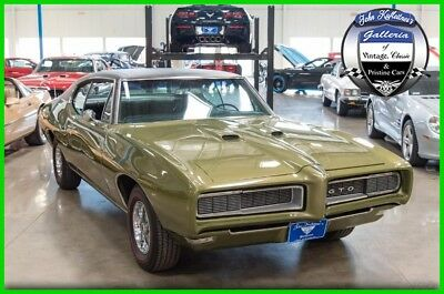 Pontiac GTO Pontiac GTO 400 1968 Pontiac GTO 400-cid V8 Automatic Numbers Matching 68 His/Her Shifter Docs