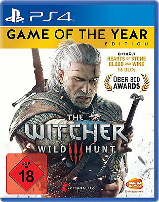 The Witcher 3 - Wilde Jagd (Game Of The Year Edition) (Sony PlayStation 4, 2016,